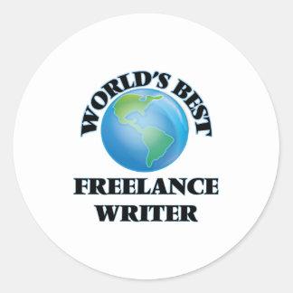 World's Best Freelance Writer Stickers