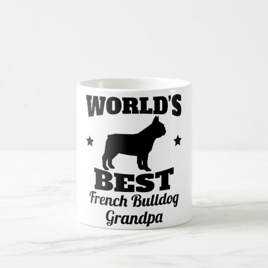 Worlds Best French Bulldog Grandpa Coffee Mug