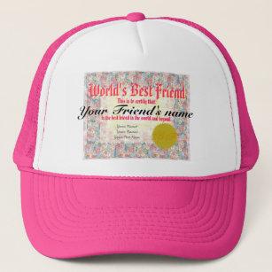 16ca3f8bcec Worlds Best Friend Certificate Gifts   Gift Ideas