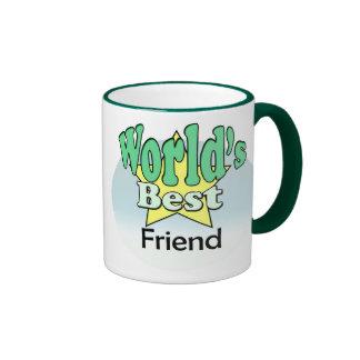 World's best Friend Ringer Mug