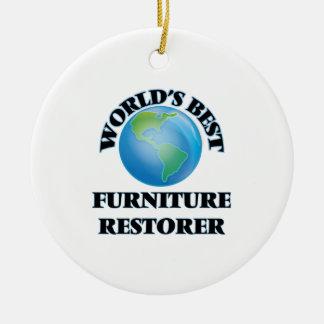 World's Best Furniture Restorer Christmas Tree Ornament