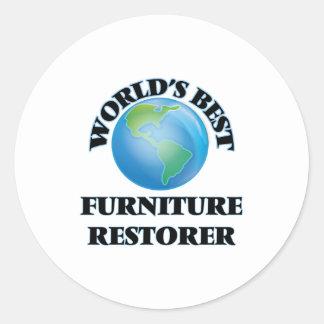 World's Best Furniture Restorer Sticker