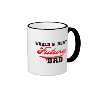 World's Best Future Dad T shirts and Gifts Coffee Mugs