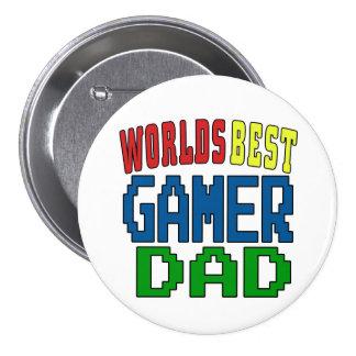 Worlds Best Gamer Dad Badge