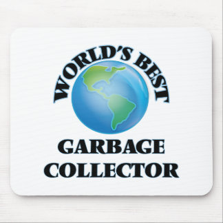 World's Best Garbage Collector Mouse Pad