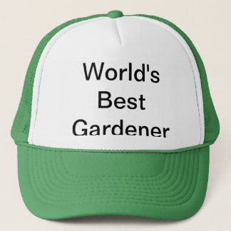 World's Best Gardener Hat