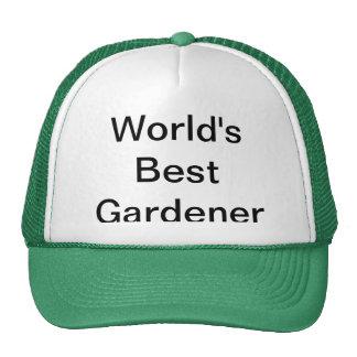 World's Best Gardener Hat