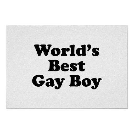 World's Best Gay Boy Posters