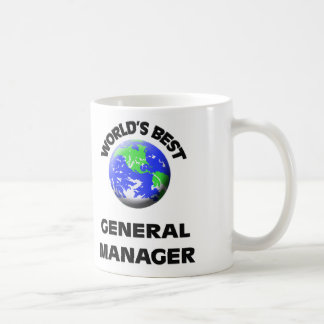 World's Best General Manager Coffee Mug