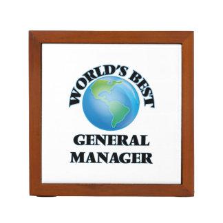 World's Best General Manager Pencil Holder