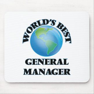 World's Best General Manager Mousepads