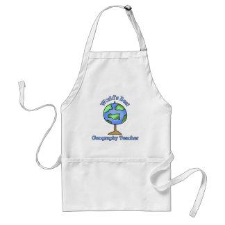 Worlds Best Geography Teacher Standard Apron