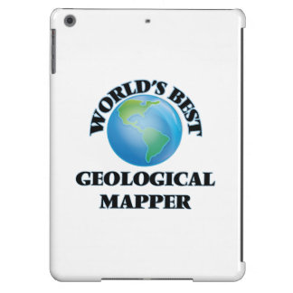 World's Best Geological Mapper iPad Air Cover