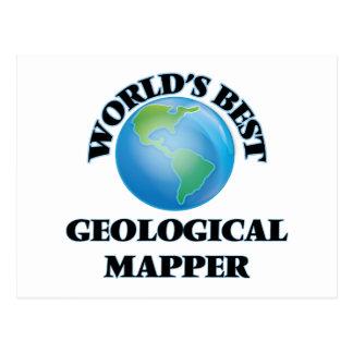 World's Best Geological Mapper Post Card