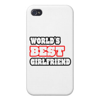 World's Best Girlfriend iPhone 4 Cover