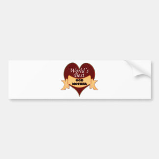 World's Best Godmother Bumper Sticker