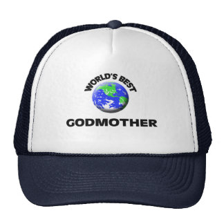 World's Best Godmother Mesh Hat