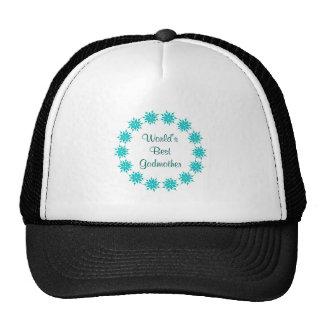 World's Best Godmother Mesh Hats