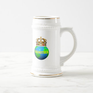 World's Best Godmother Mothers Day Gifts Beer Stein
