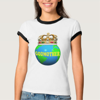 World's Best Godmother Mothers Day Gifts T-Shirt