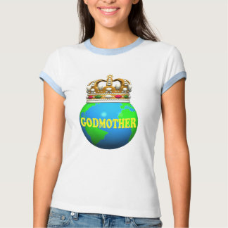 World's Best Godmother Mothers Day Gifts Tshirt