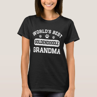World's Best Goldendoodle Grandma T-Shirt