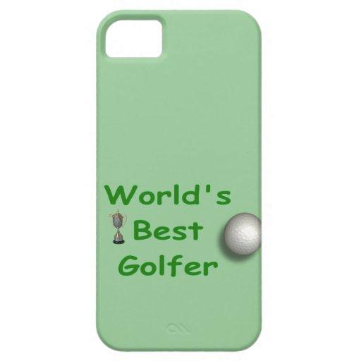 World's Best Golfer Case-Mate Case iPhone 5 Cases