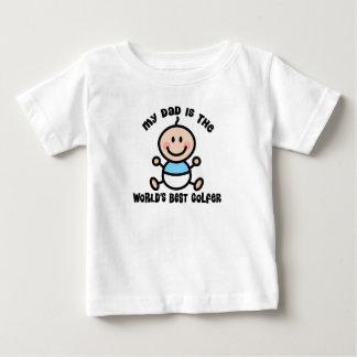 Worlds Best Golfer Dad Baby Tee