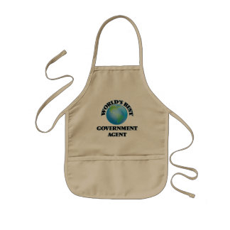 World's Best Government Agent Apron