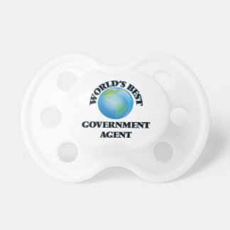 World's Best Government Agent BooginHead Pacifier