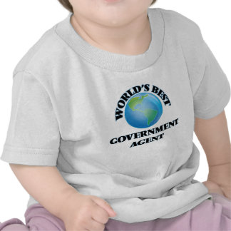 World's Best Government Agent Tee Shirts