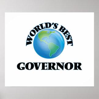 World's Best Governor Print