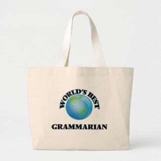 World's Best Grammarian Tote Bags