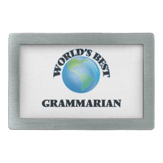 World's Best Grammarian Belt Buckles