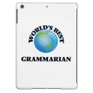 World's Best Grammarian Cover For iPad Air