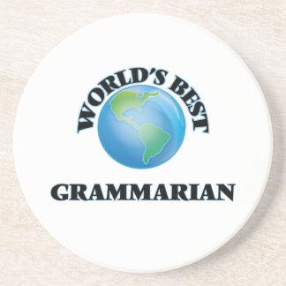 World's Best Grammarian Coaster