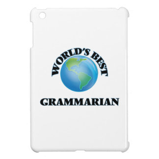 World's Best Grammarian iPad Mini Case