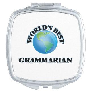 World's Best Grammarian Makeup Mirror