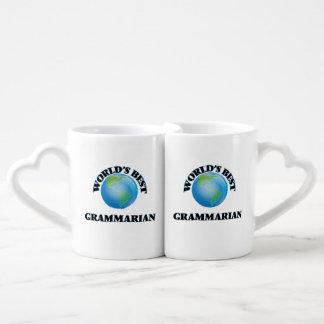 World's Best Grammarian Lovers Mugs