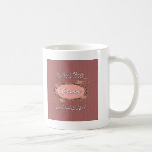 World's Best Grammy Series Classic White Coffee Mug