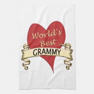 World's Best Grammy Tea Towel