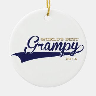 World's Best Grampy Ornament