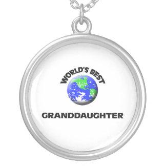World's Best Granddaughter Necklace