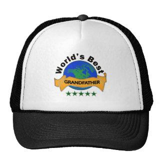 World's Best Grandfather Mesh Hat