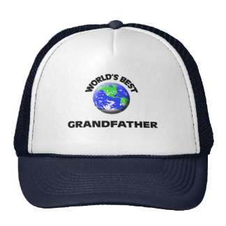 World's Best Grandfather Mesh Hats