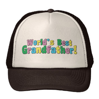 World's Best Grandfather Hats