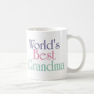 Worlds Best Grandma 2 Coffee Mug