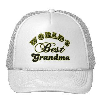 World's Best Grandma Baseball Hat