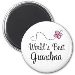 World's Best Grandma Butterfly Gift