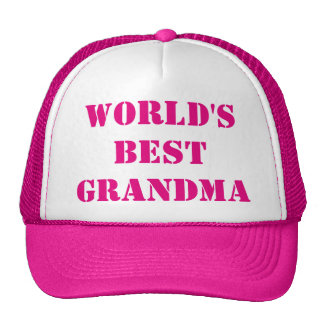 World's best Grandma Cap